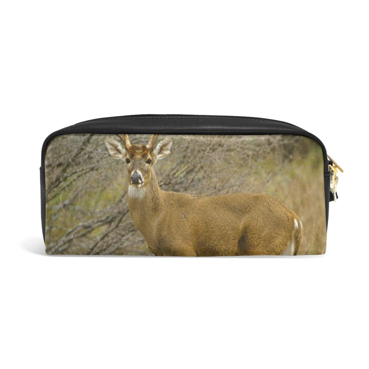 5e55b00171807 Amazon.com : Pencil Case/Makeup Bags Buck Stag Antlers Deer Big ...