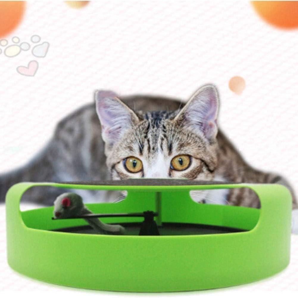 ZKK Juguetes para Gatos - Juguete Gato de Todas Las Edades, Juguetes para Gatos Ratones Electricos, Rascador de Gatos, Su Gato No Podrá Resistirse: Amazon.es: Productos para mascotas