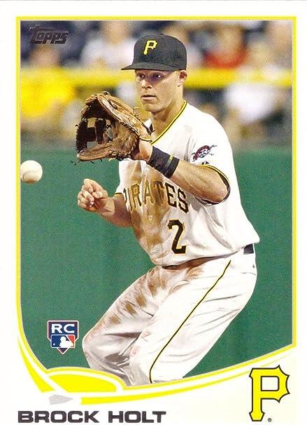 2013 Bowman Baseball Rookie Card #217 Brock Holt