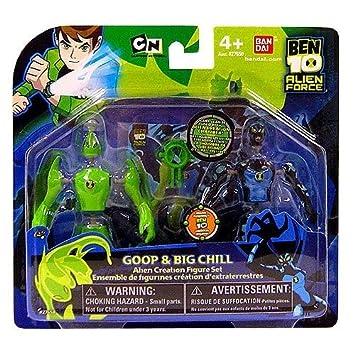 Ben 10 Alien Force Alien Creation Transporter Ban Dai Alien X /& Goop