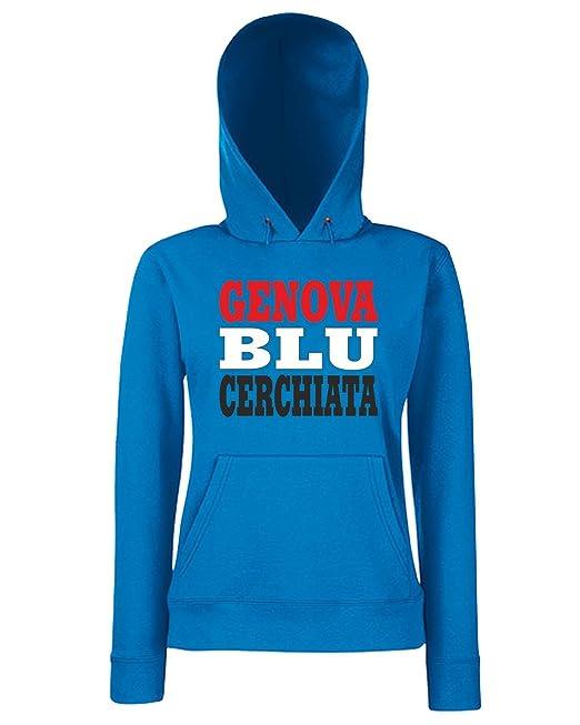 T-Shirtshock - Sudadera hoodie para las mujeras WC1005 SAMPDORIA ITALIA CITTA STEMMA LOGO, Talla L: Amazon.es: Ropa y accesorios