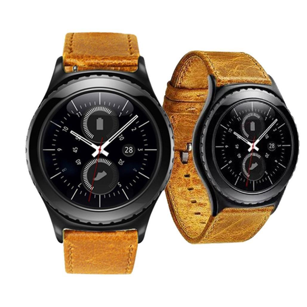 Besskyステンレススチールブレスレット時計バンドストラップfor Samsung Galaxy Gear s2 Classic sm-732 (ゴールド) Samsung Galaxy Gear S2 Classic オレンジ 4331770355 オレンジ オレンジ B01MD11AZC