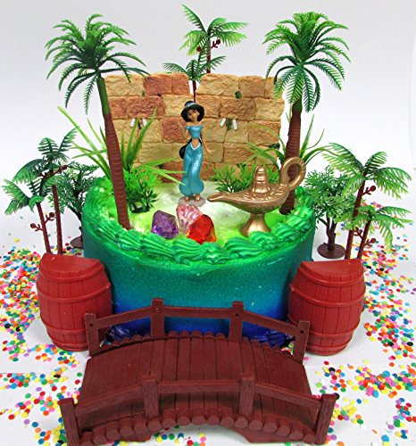 Miraculous Aladdin Princess Jasmine Birthday Cake Topper Set Featuring Personalised Birthday Cards Veneteletsinfo