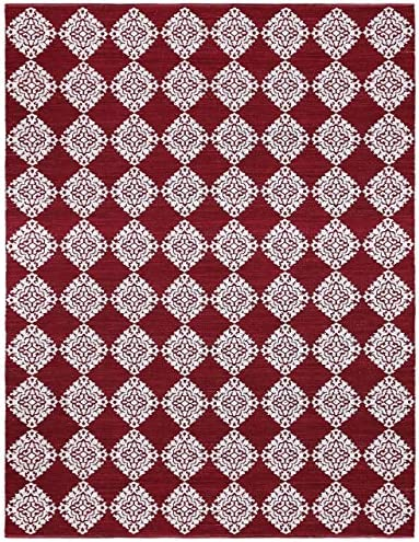 Jacquard Medallion Cotton Rug