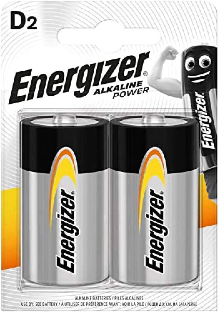 Energizer Battery Alkaline Power D Mono Lr20 Elektronik
