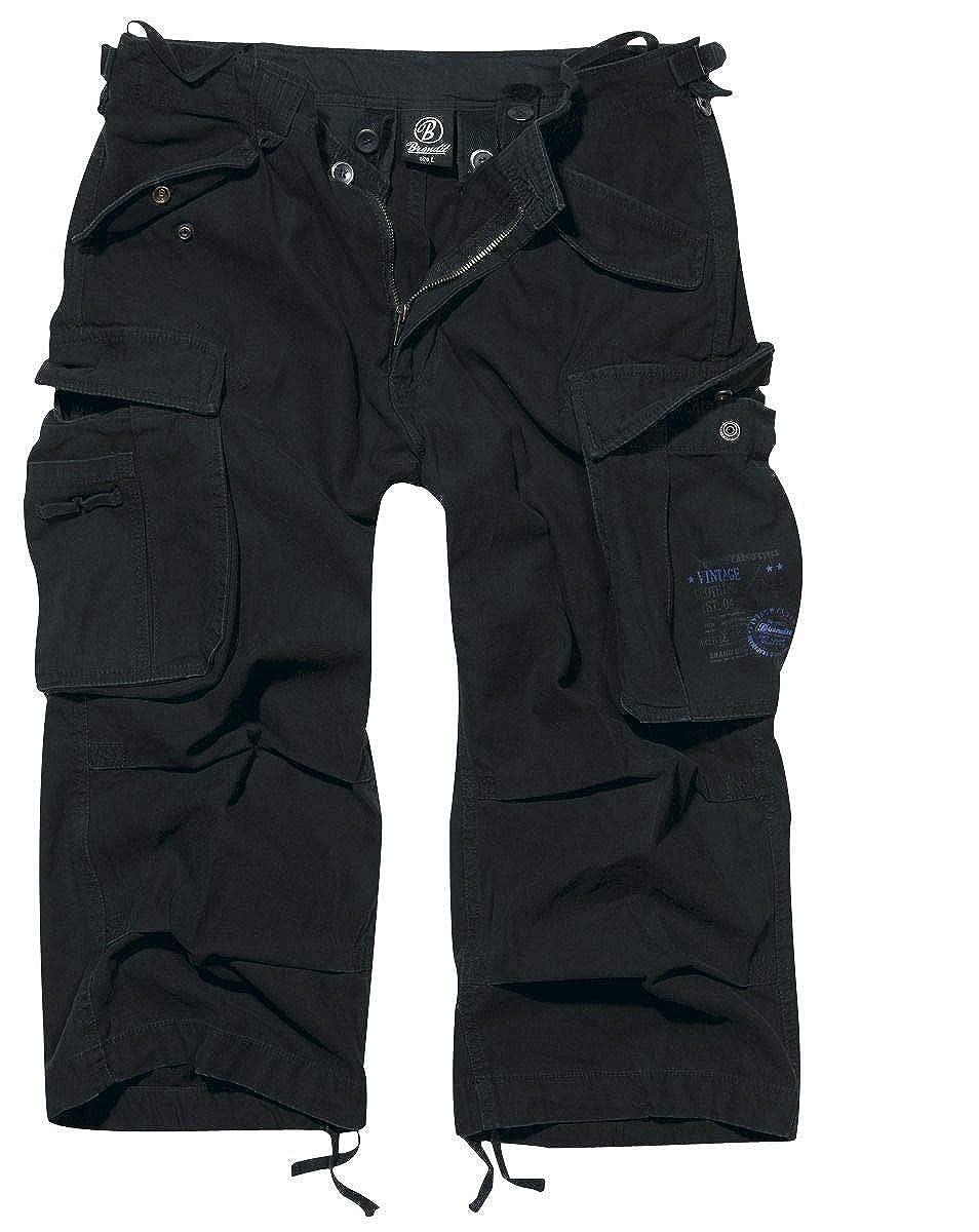 Brandit Industry Vintage 3/4 Pantalones cortos Vintage Antracita