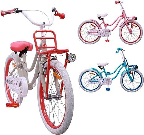 AMIGO Superstar - Bicicleta infantil de 20 pulgadas para niña, con ...