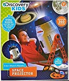 Incredible 2-In-1 Stars and Planet Space Project By Discovery Kids, Explore Galaxies, Planets and Nebulas, 360 Automatic Rotation, 3 x 24 Stunning Slides, Incredible Clarity, Perfect Toys For Children