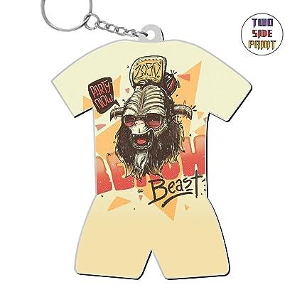 Amazon Com Custom Keychain Beast Sheep Keyring World Cup Polo Shirt