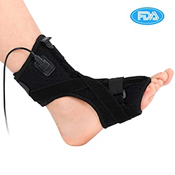 dcbfaff4b3 Plantar Fasciitis Night Splint, Heated Therapy Foot Drop Orthotic Brace for  Effective Relief from Plantar