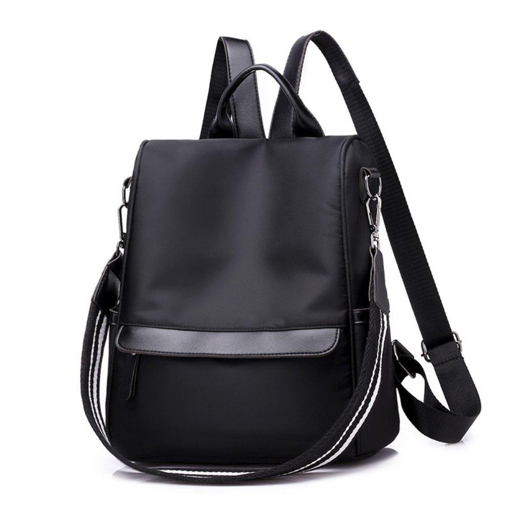 de Bolsa robo mochila de Anti de Casual Mochilas Negro Bolsa Melansay Mujer viaje de Mochila Nylon mano xd0wXwqtF