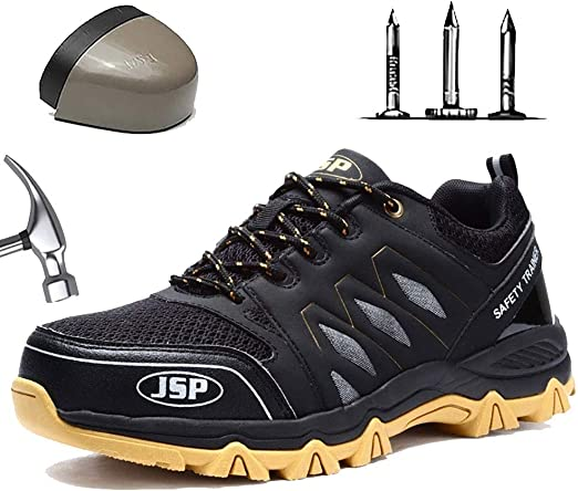 Wygwlg Safety Shoes for Men Breathable