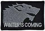 Winter is Coming / Stark Wolf / Game of Thrones 2x3 Morale Patch - Multiple Colors