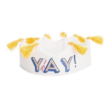 Amazon.com: Coronas para la gente Yay cumpleaños corona ...