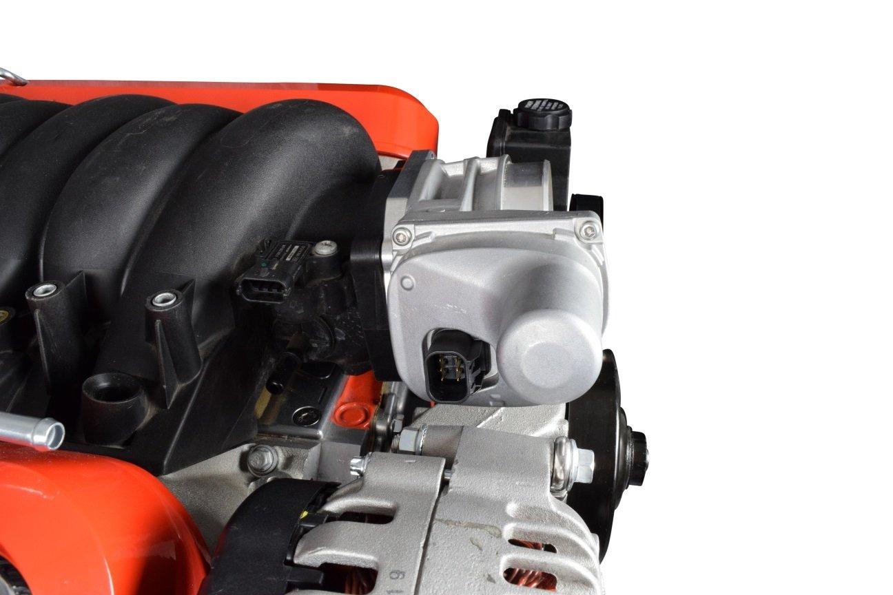 551781 LS Throttle Body Rotation Adapter LS3 4 Bolt TB DBW