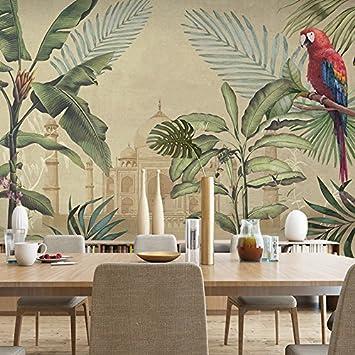 Wongxl Die Flora Und Fauna Von Südostasien Grüne Wand Papier ...