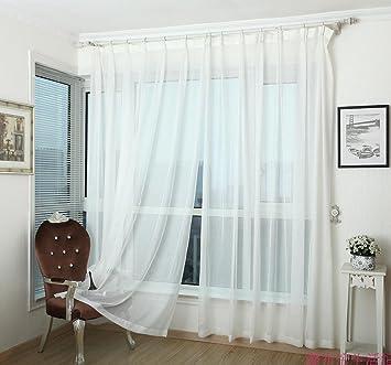 YTM (TM) 2 X 2,7 M Fenster Sichtschutz Für Schlafzimmer,