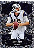 #5: 2018 Panini NFL Stickers Collection #397 Jarod Goff Los Angeles Rams Foil Official Football Sticker