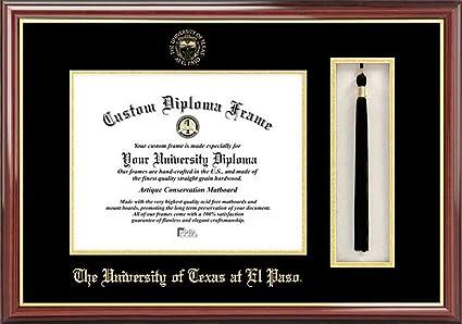 Amazon.com : UTEP Miners Diploma Frame and Tassel Box : Sports ...