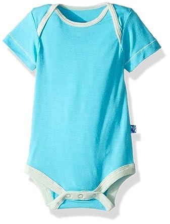 932b74d4253 Amazon.com  Kickee Pants Baby Boys  Solid Short Sleeve One Piece  Prd-kpo113-cia