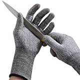 Cut Resistant Gloves,Ibowooforrest Food Grade Level 5 Protection...