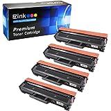 E-Z Ink (TM) Compatible Toner Cartridge 2K Replacement for Samsung 111S 111L MLT-D111S MLT-D111L (4 Black Toners) Compatible With Samsung Xpress M2020W Xpress M2070W Xpress M2070FW Printer