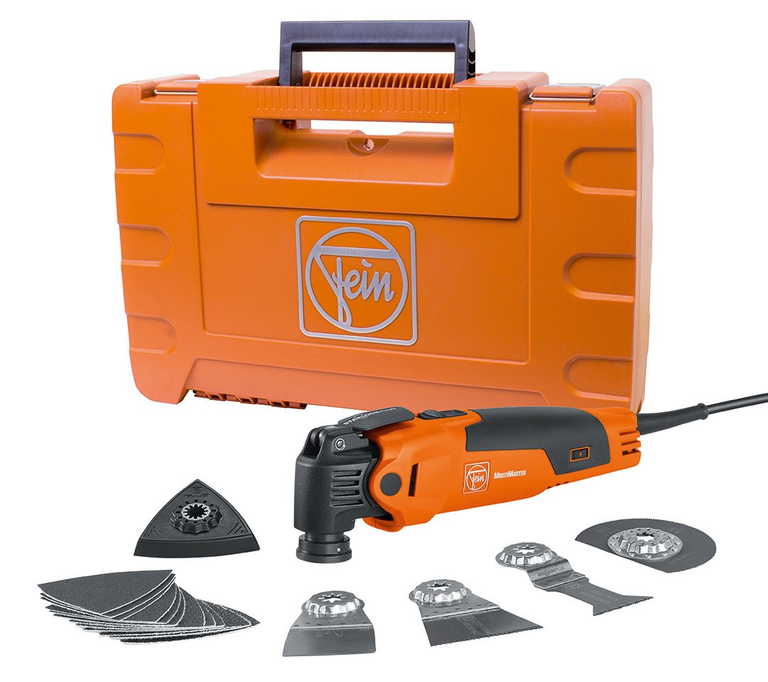 FEIN FMM350QSL MultiMaster QuickStart StarlockPlus Oscillating Multi-Tool with snap-fit accessory change by Fein