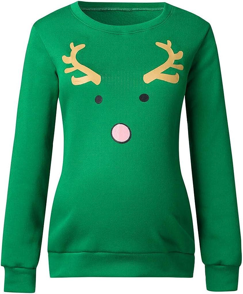 Topgrowth Magliette Premaman Divertenti Natale Pupazzo di Neve T-Shirt di Gravidanza Stampa del Fumetto Magliette per maternit/à Tops