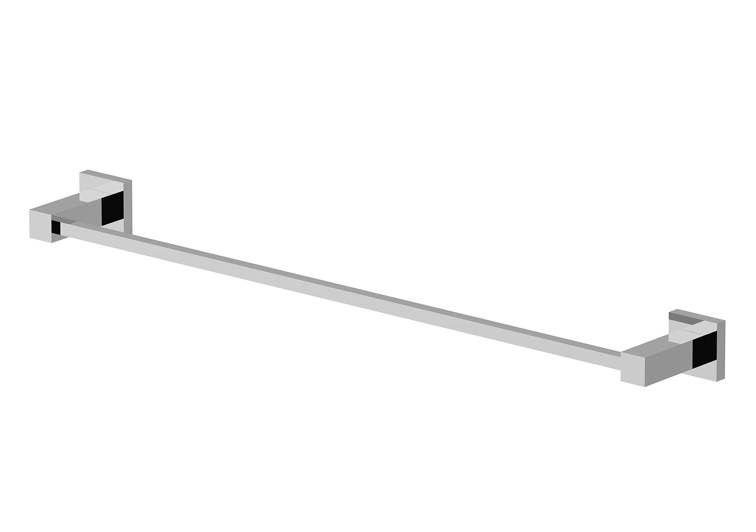 Eviva EVAC20CH Toweller Towel bar Bathroom Accessories Combination, Chrome