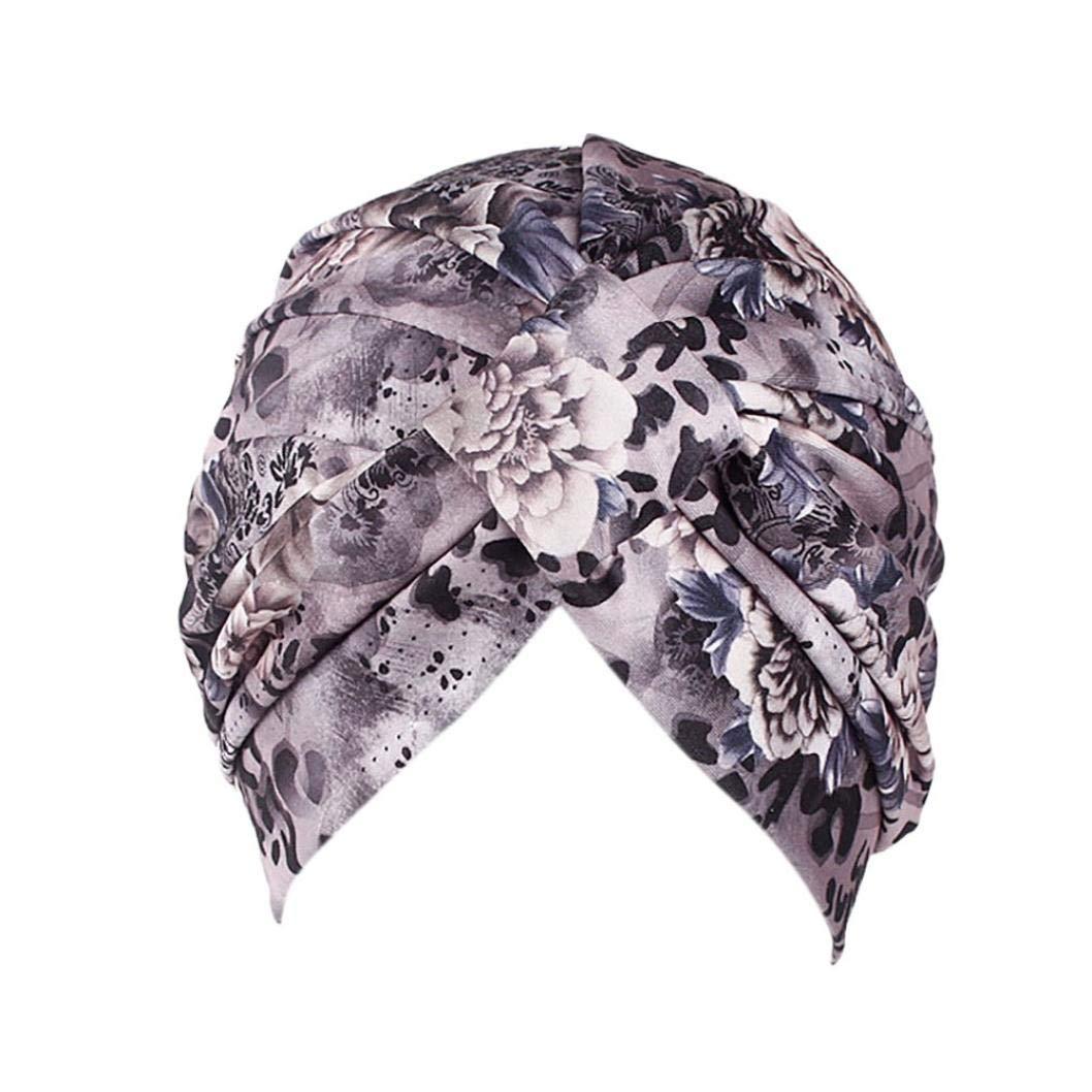 P/érdida de Cabello Fossrn Vintage Flores Gorro Sombrero Turbantes Pa/ñuelos Cabeza Mujer para Cancer Quimioterapia Oncologicos