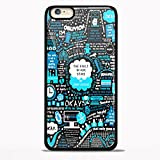 img - for the fault in our stars john green quote for iPhone 6/6s Black case book / textbook / text book
