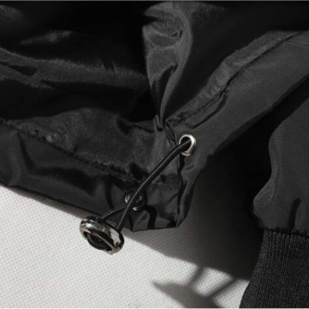 Slim Fit con Capucha Outwear Blusa de Sudadera Suéter de Barras paralelas de Costura para Hombre BaZhaHei Invierno Abrigo Casual Sudadera con Capucha ...