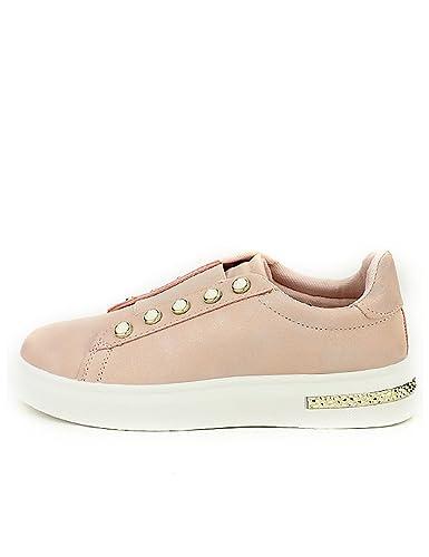 CendriyonBaskets Femme Rose Girlhood nacrée Chaussures wP08NOkZnX