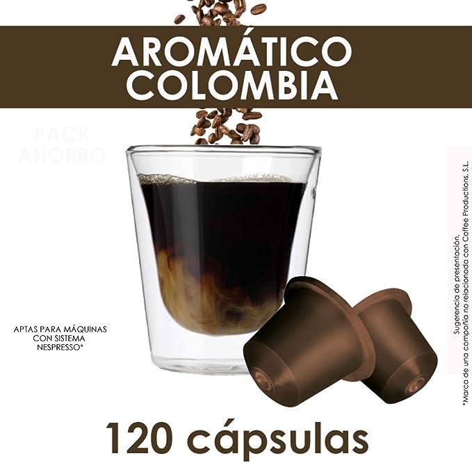 PACK AHORRO - 120 CÁPSULAS COMPATIBLES NESPRESSO®* - AROMÁTICO COLOMBIA