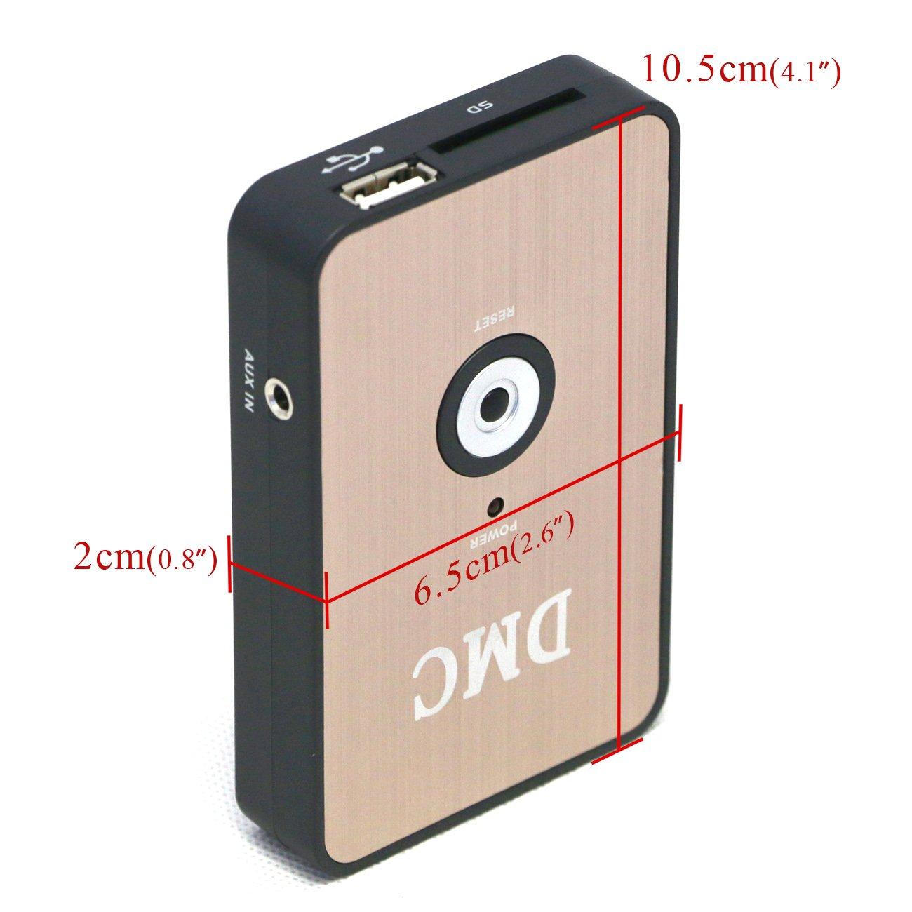 Digital Music Changer Player Media CD Changer MP3 for Honda GOLDWING 1800 GL1800 2001-2015 by COBIKE (Image #3)