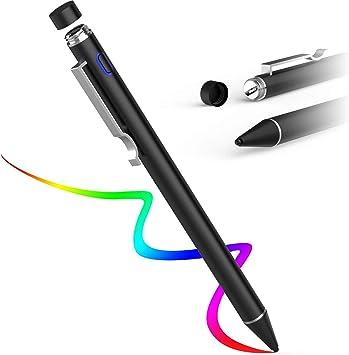 """Eingabegerät für iPad /& iPhone in 7 Farben Schreibfeder /""""Stylus/"""" Pen Stift"""