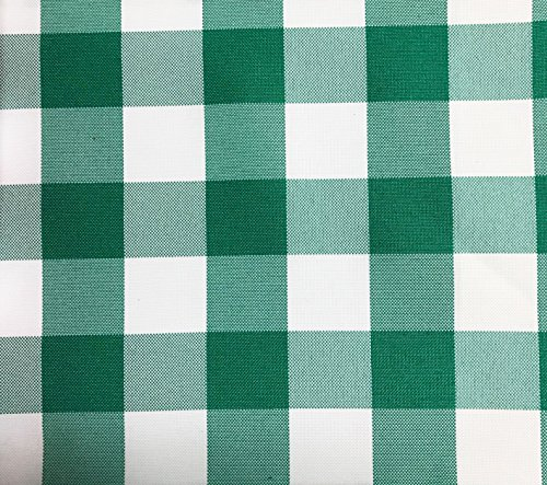 GFCC Checkered Tablecloth 60x120 inch Green Table Cloth Banquet for Wedding Party Home Decor Birthday Party