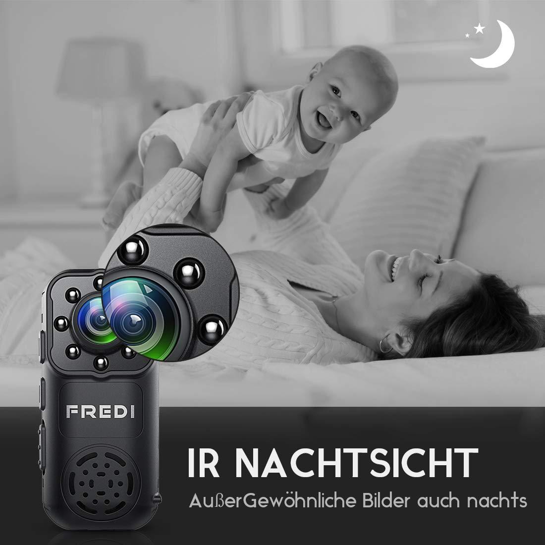 Sicher zu Hause mini wlan kamera überwachungskamera kabellos tragbare IP Überwachungskamera Sicherheit Kamera P2P Kleine mit Bewegungsmelder/IR Nachtsicht mit Akku Innen Außen Haus für IOS Andriod iPhone