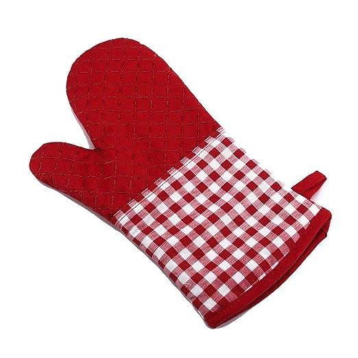 Guante para horno 2 piezas de silicona guantes para mitones de ...