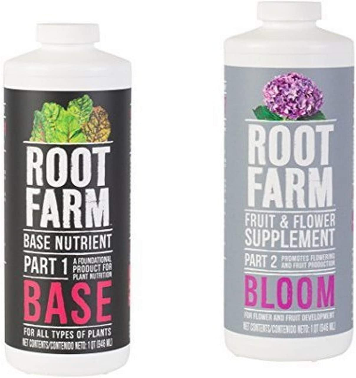 Root Farm Base Nutrient and 10101-10093 Fruit & Flower Supplement