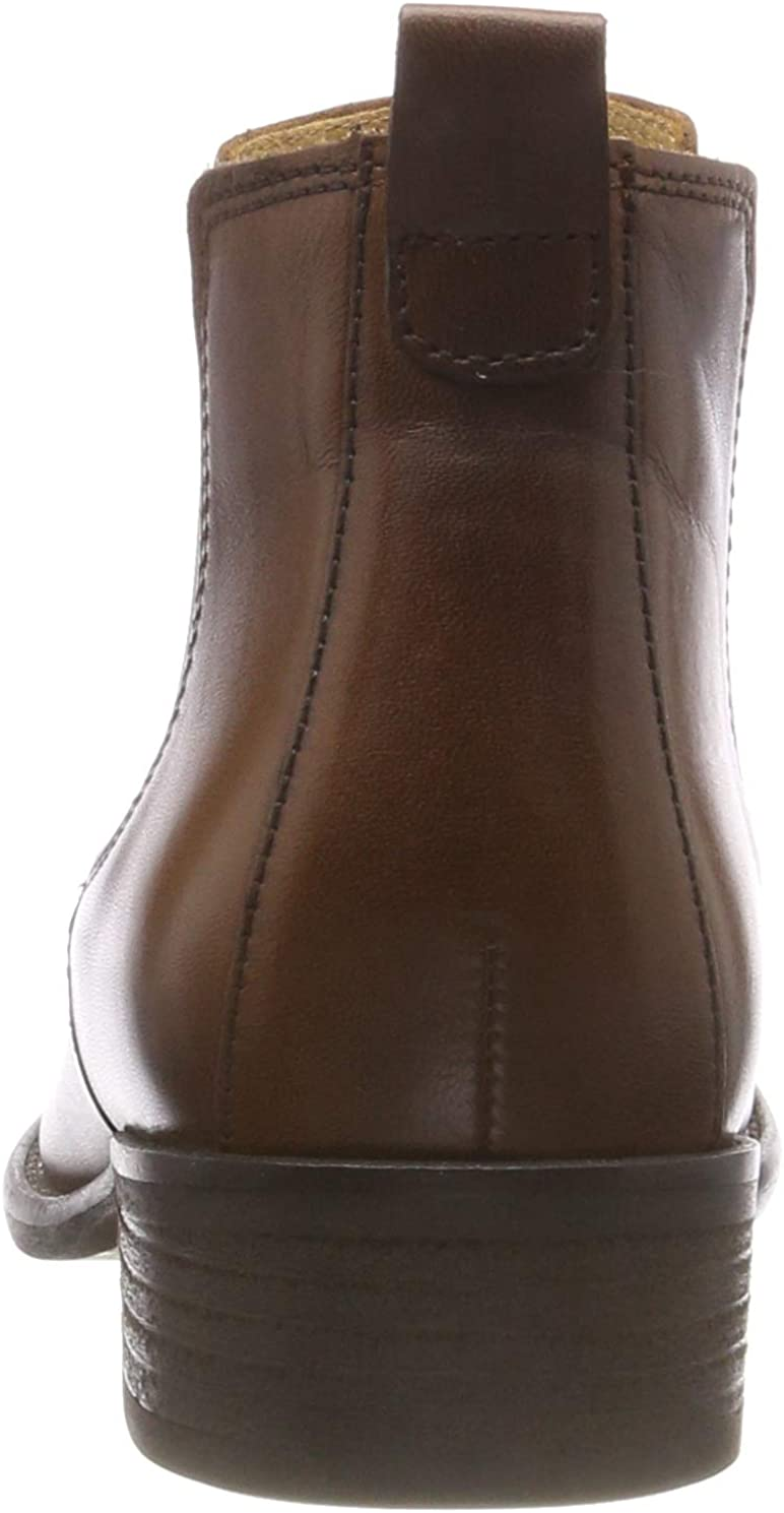 Gabor Damen Fashion Chelsea Boots, Schwarz Braun Sattel Effekt 22