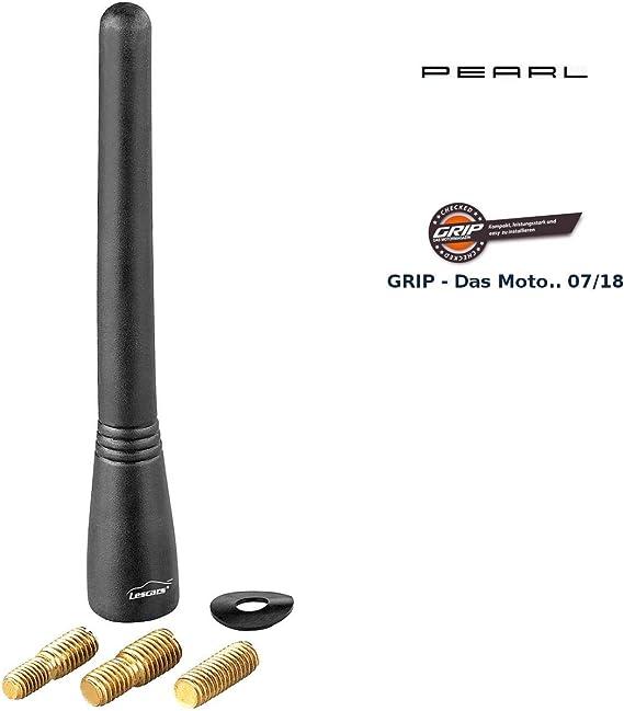 Antena corta universal para coche (16 V, 10 cm)