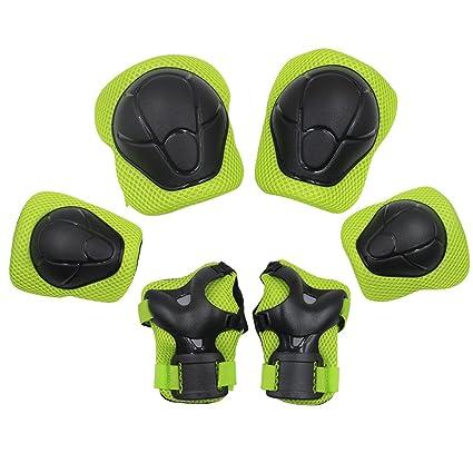 Kuyou Kid s Gear Set de protección, patinaje skate bmx ...