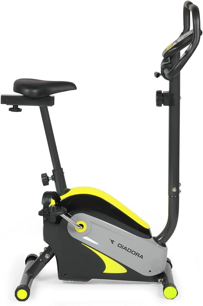 Diadora Swing Bicicleta Estática, Color Negro/Amarillo: Amazon.es: Deportes y aire libre