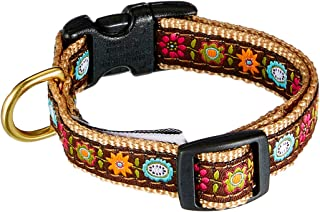 product image for Up Country Bella Floral Dog Collar X-Small