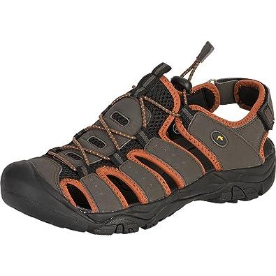 ConWay Damen Herren Trekkingsandalen braun, Größe:44;Farbe:Braun