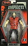 TNA Wrestling Action Figures - Deluxe Impact Series 2 - MICK FOLEY (7 inch)
