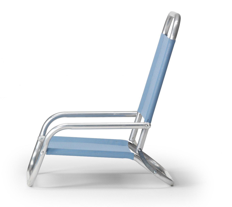 Telescope Casual Sun and Sand Folding Beach Chair, Navy
