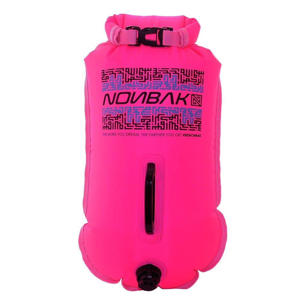 Nonbak boya natacion estanca 28L ,bolsa impermeable, rosa, talla M Nond0002