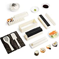 Virklyee Sushi Maker kit 10pcs 5 Formas únicas